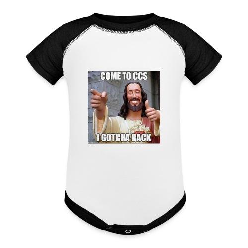 CHCCS memes design 1 - Baseball Baby Bodysuit