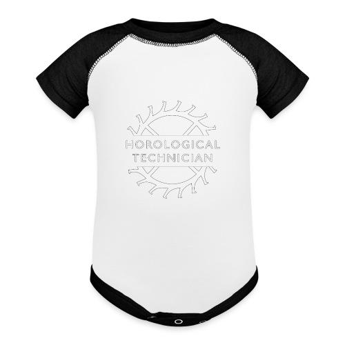 Horological Technician - White - Baseball Baby Bodysuit