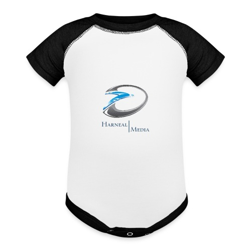 Harneal Media Logo Products - Contrast Baby Bodysuit