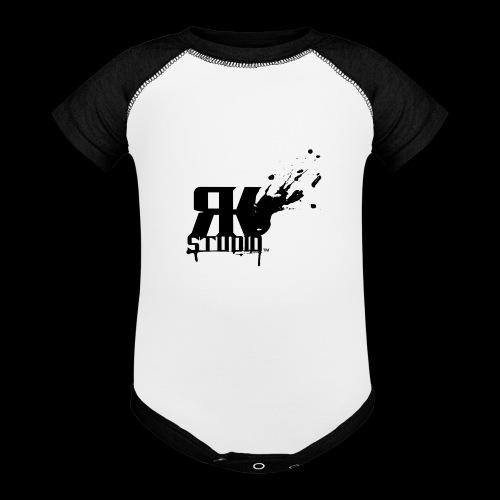 RKStudio Black Version - Baseball Baby Bodysuit