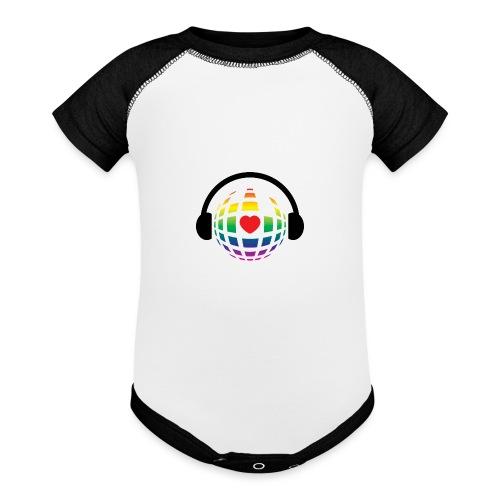 my music world - Baseball Baby Bodysuit