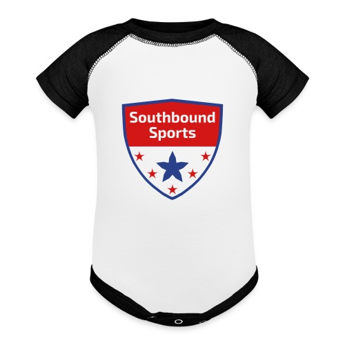 Southbound Sports Crest Logo - Baby Contrast One Piece