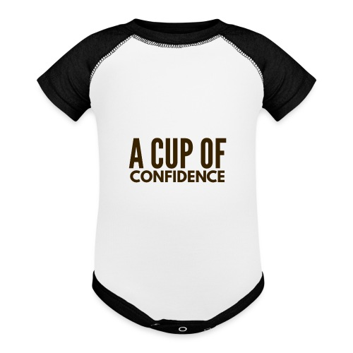 A Cup Of Confidence - Baseball Baby Bodysuit