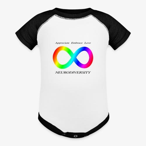 Embrace Neurodiversity - Baseball Baby Bodysuit