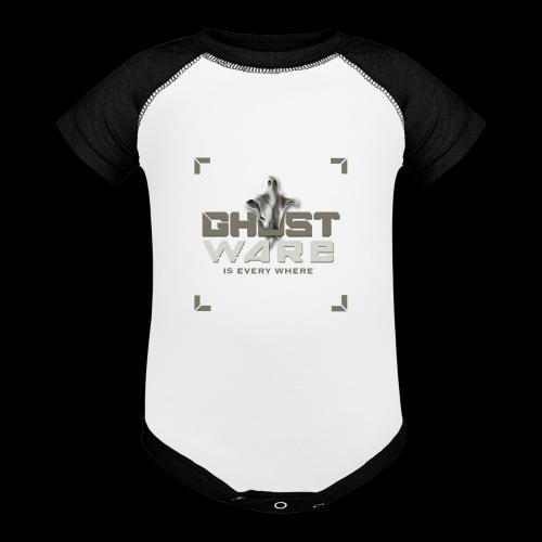 Ghostware Square Logo - Baseball Baby Bodysuit