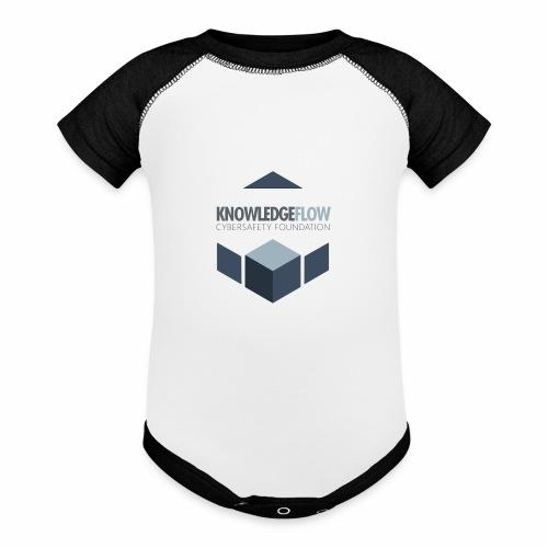 KnowledgeFlow Cybersafety Foundation - Baseball Baby Bodysuit