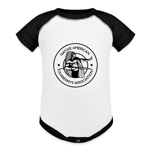 NAGA Logo - Baseball Baby Bodysuit