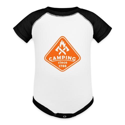 Campfire - Baseball Baby Bodysuit