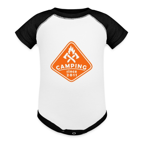 Campfire 2011 - Baseball Baby Bodysuit