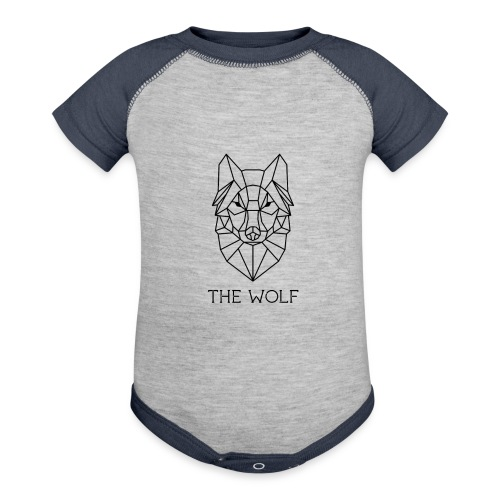 The Wolf - Contrast Baby Bodysuit