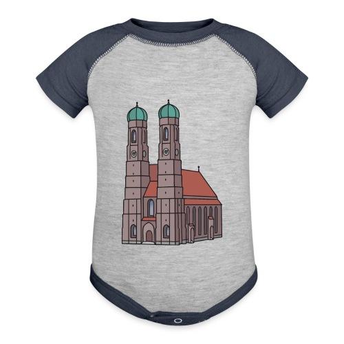 Munich Frauenkirche - Baseball Baby Bodysuit