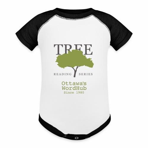 Tree Reading Swag - Baseball Baby Bodysuit