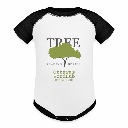 Tree Reading Swag - Contrast Baby Bodysuit