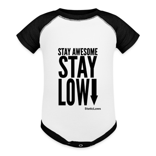 Stay Awesome - Baseball Baby Bodysuit