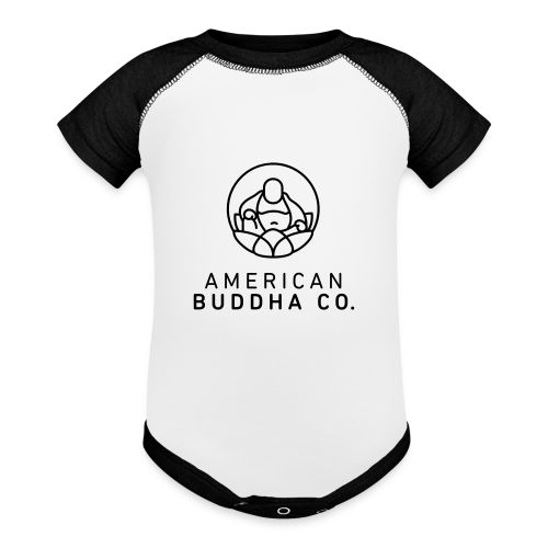AMERICAN BUDDHA CO. ORIGINAL - Contrast Baby Bodysuit