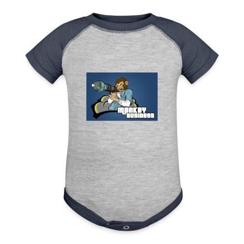 MonkeyBuisness - Contrast Baby Bodysuit