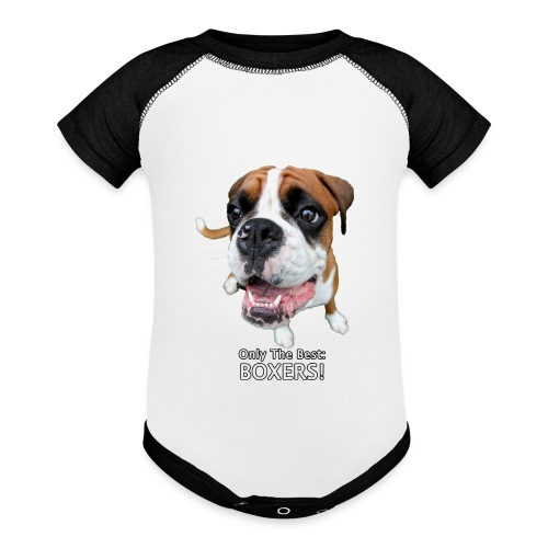 Only the best - boxers - Baseball Baby Bodysuit