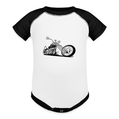 Custom American Chopper Motorcycle - Baseball Baby Bodysuit