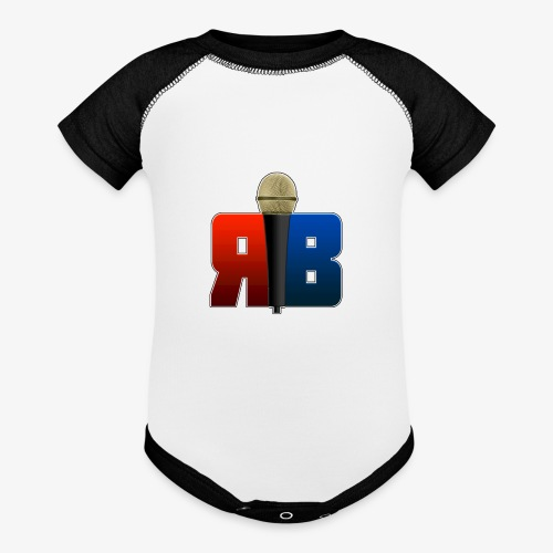 RubikBBX Logo - Baseball Baby Bodysuit