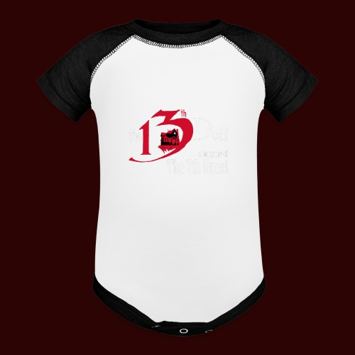 The 13th Doll Logo - Baseball Baby Bodysuit