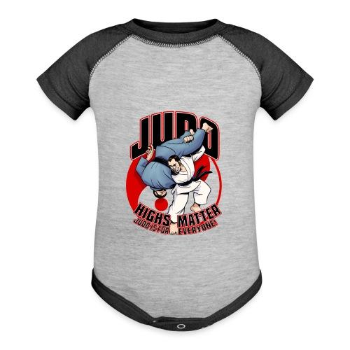 Judo Highs Matter - Baseball Baby Bodysuit