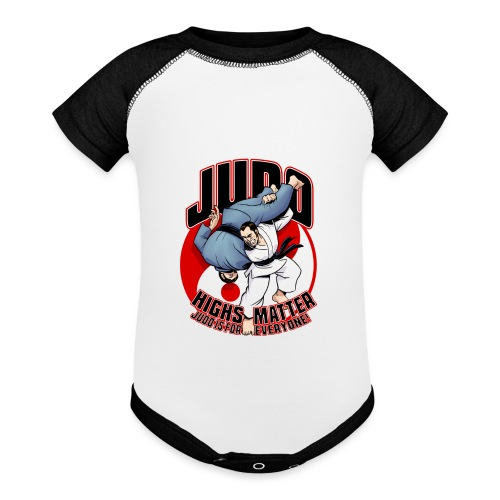 Judo Highs Matter - Baseball Baby Bodysuit