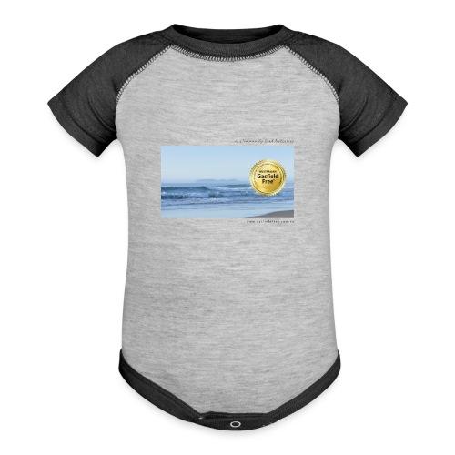 Beach Collection 1 - Baseball Baby Bodysuit