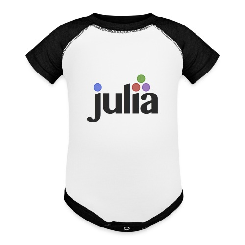 Official Julia Logo - Baseball Baby Bodysuit