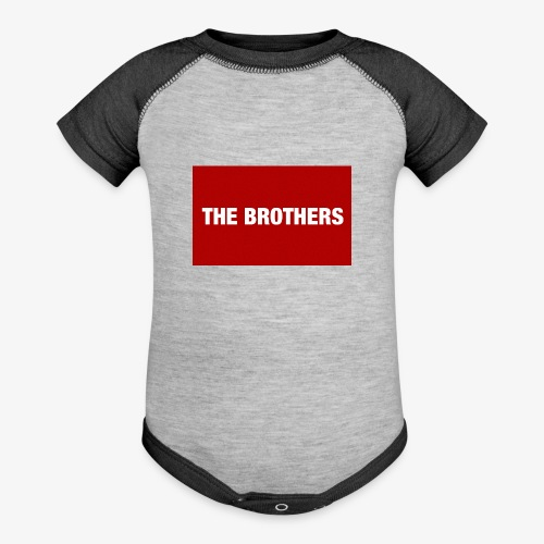 The Brothers - Contrast Baby Bodysuit