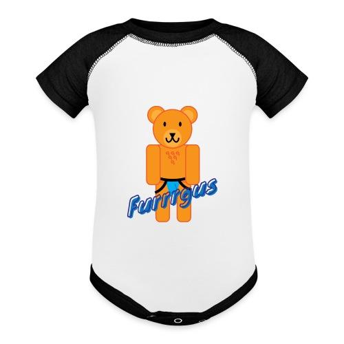 Furrrgus @ Underbear - Baseball Baby Bodysuit