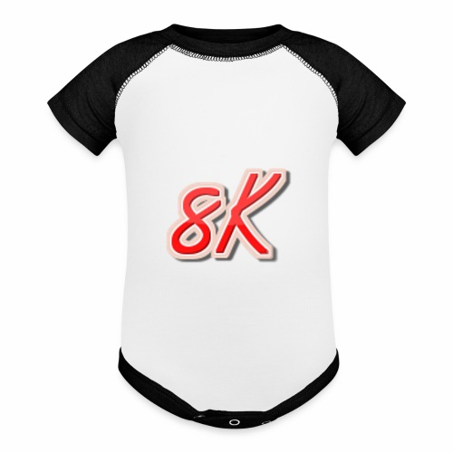 8K - Baseball Baby Bodysuit