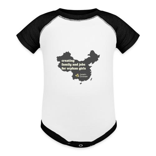 Josiah's Covenant - map - Baseball Baby Bodysuit