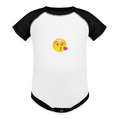 Sending Love - Baseball Baby Bodysuit