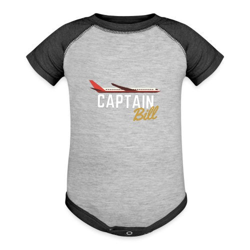 Captain Bill Avaition products - Baseball Baby Bodysuit