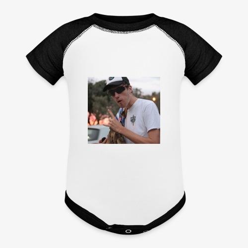 big man - Baseball Baby Bodysuit