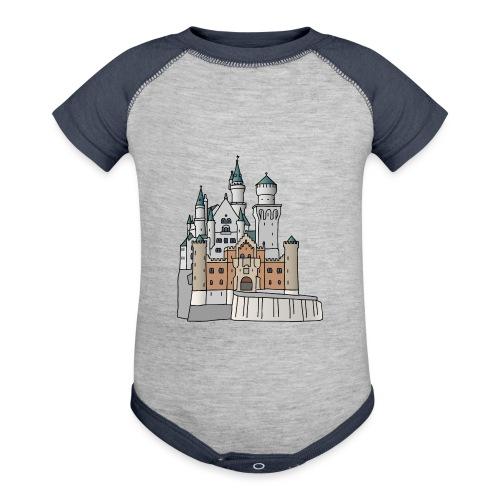 Neuschwanstein Castle, Bavaria - Baseball Baby Bodysuit