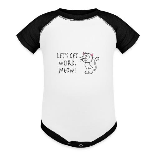 CE4_-_Weird - Baseball Baby Bodysuit