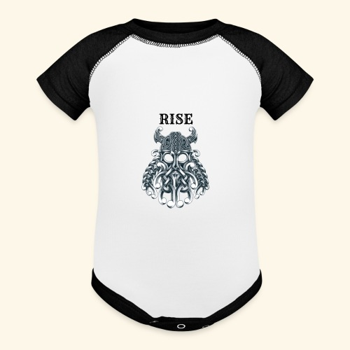 RISE CELTIC WARRIOR - Baseball Baby Bodysuit