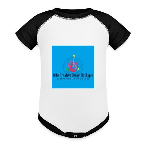 Debs Creative Design Boutique 1 - Baseball Baby Bodysuit