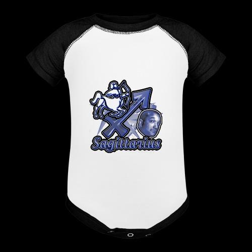 Sagittarius Redd Foxx - Baseball Baby Bodysuit