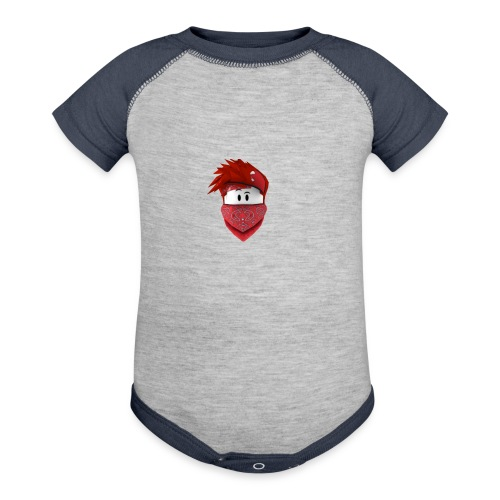 henry - Contrast Baby Bodysuit
