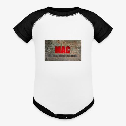 MAC LOGO - Contrast Baby Bodysuit