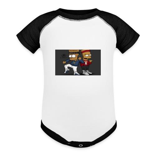 Sweatshirt - Baseball Baby Bodysuit