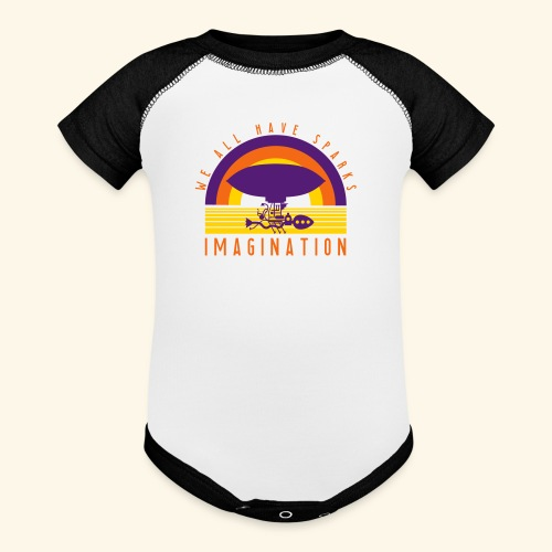 We All Have Sparks - Baseball Baby Bodysuit