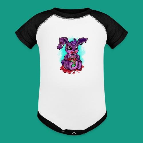Zombunny - Baseball Baby Bodysuit