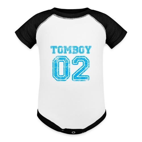 Tomboy02 png - Baseball Baby Bodysuit
