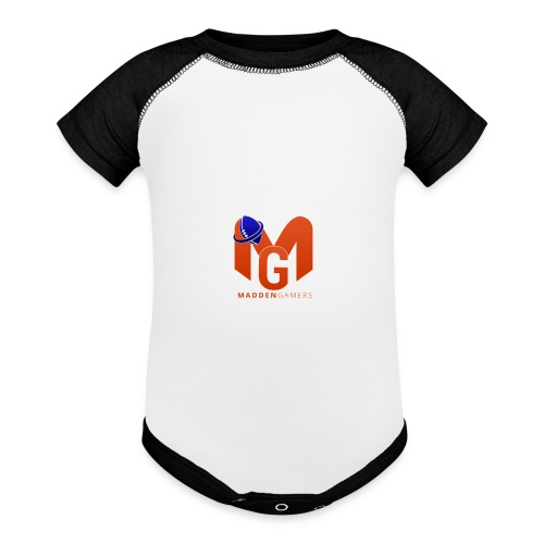 MaddenGamers MG Logo - Baby Contrast One Piece