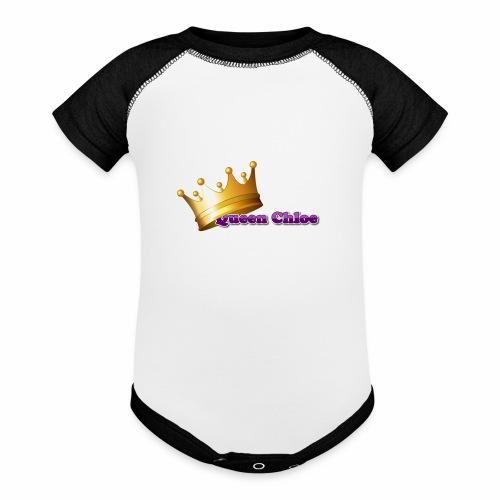 Queen Chloe - Baseball Baby Bodysuit