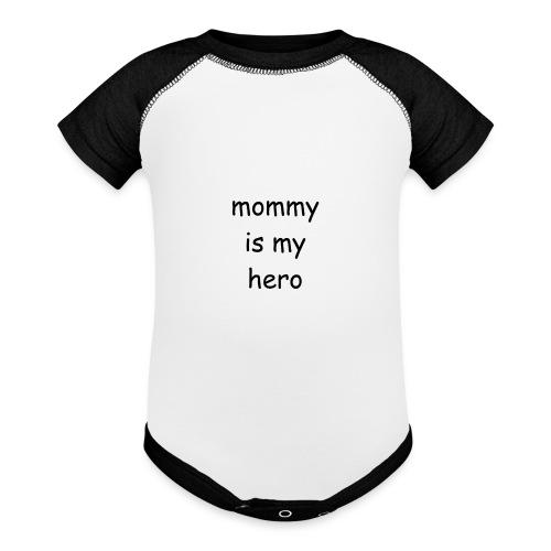 mommyhero - Contrast Baby Bodysuit