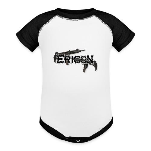 Ericon Beats Uzi Logo - Baseball Baby Bodysuit